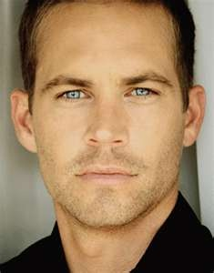Paul Walker...pretty blue eyes  :)