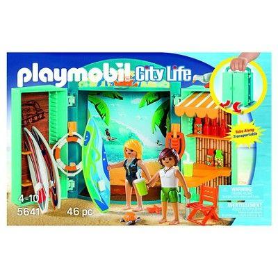 Playmobil City Life Surf Shop Playset