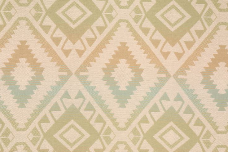 Southwestern Woven Olefin Outdoor Fabric. This woven fabric is perfect for outdoor usage. Olefin is a very strong fabric which maintains its strength in wet or dry conditions. The fibers have low moisture...