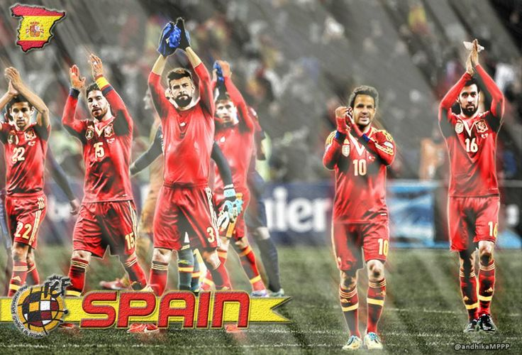 Spain National Football Team Wallpapers - Free download latest Spain National Football Team Wallpapers for Computer, Mobile, iPhone, iPad or any Gadget at WallpapersCharlie.com.