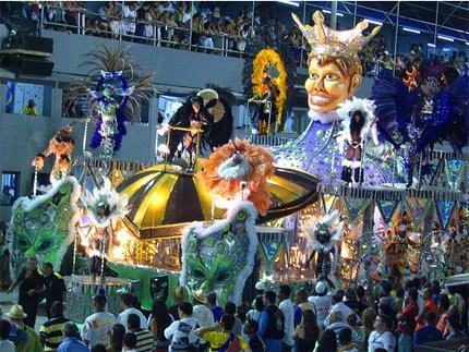 Rio de Janeiro Brazil Carnaval (if you're gonna go Mardi Gras, go big)