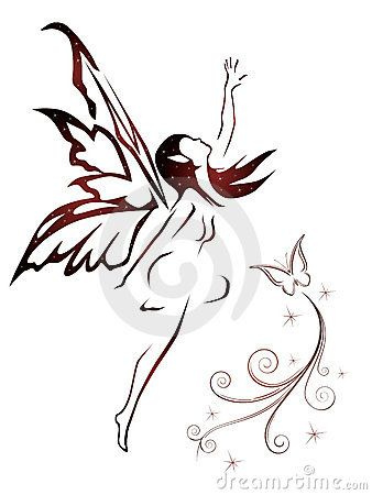 Flying fairy by Nn555, via Dreamstime