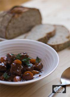 Receta de estofado de ternera guinness. Guinness Stew. Irish recipe