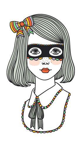 62 best images about children 39 s fashion illustration on - Deguisement audrey hepburn ...