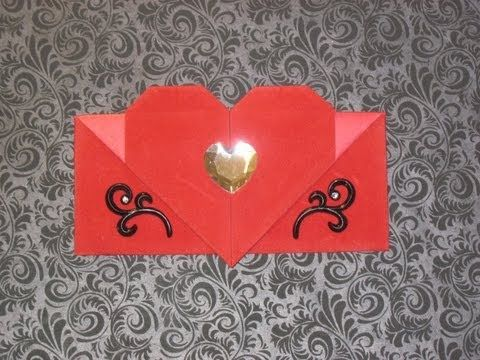 heart envelope pinterest