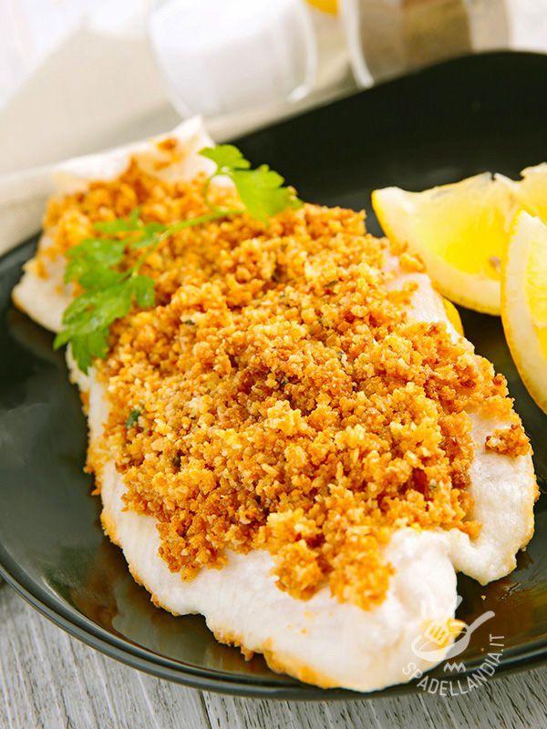 Il Merluzzo alle mandorle croccanti è un ottimo jolly per variare ogni tanto il consueto menu di pesce della settimana con una panatura davvero originale!