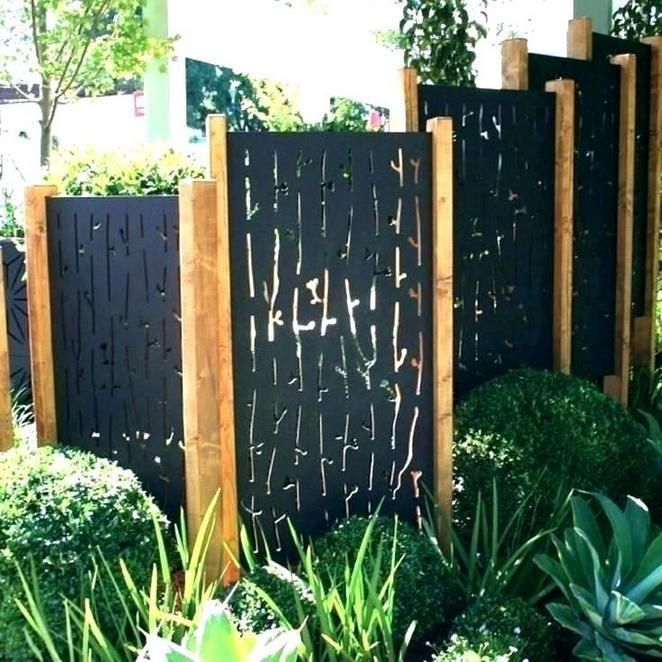 Myhomestyleguide Privacy Screen Outdoor Affordable Backyard Ideas Large Backyard Landscaping