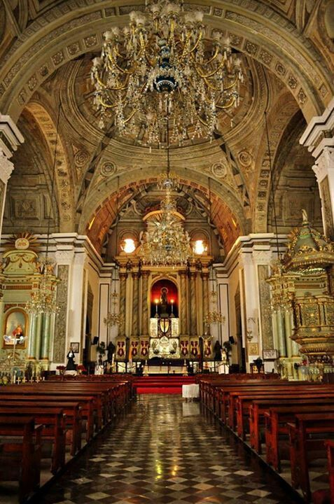 San Agustin Church, Manila. Oldest church in the Philippines.