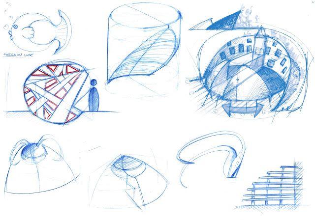 Esquisses et vues 3d I Calendrier des 7 lunes I Design by RCP Design Global