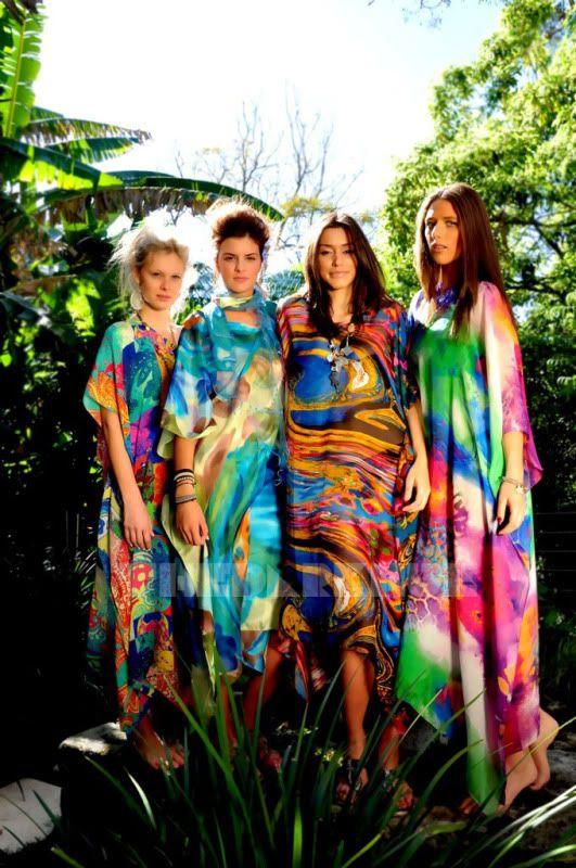 Sensational summery prints..LALOOM Kaftans