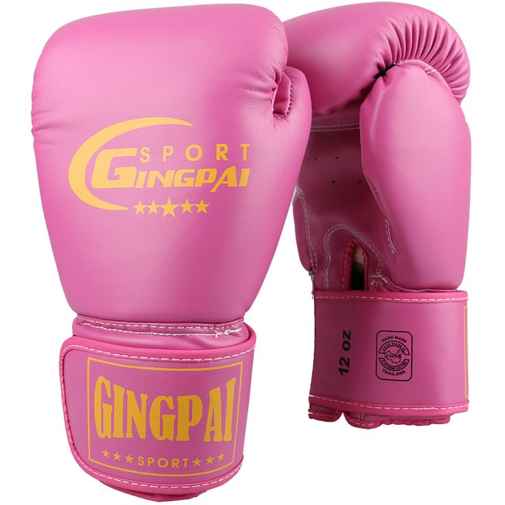 Quality Boxing gloves latex liner 10oz 12oz punching bag mitts adult fighting kick MMA gloves women pink black training glove