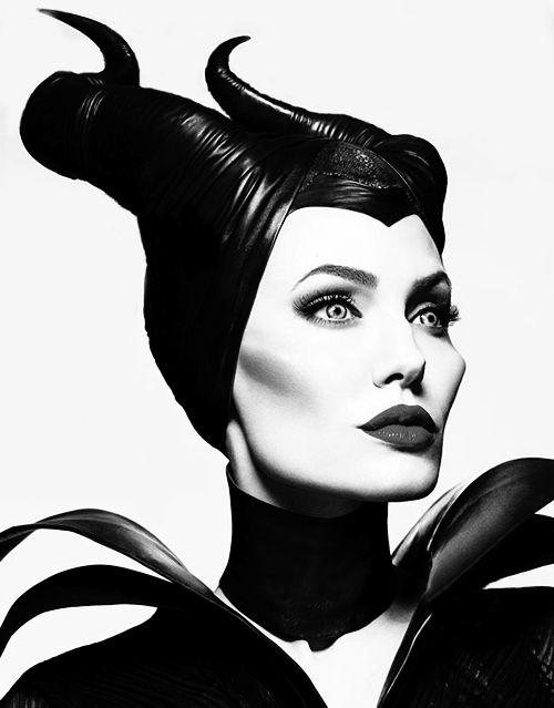 Angelina Jolie as Maleficent  #wickedwitches #disney #angelinajolie