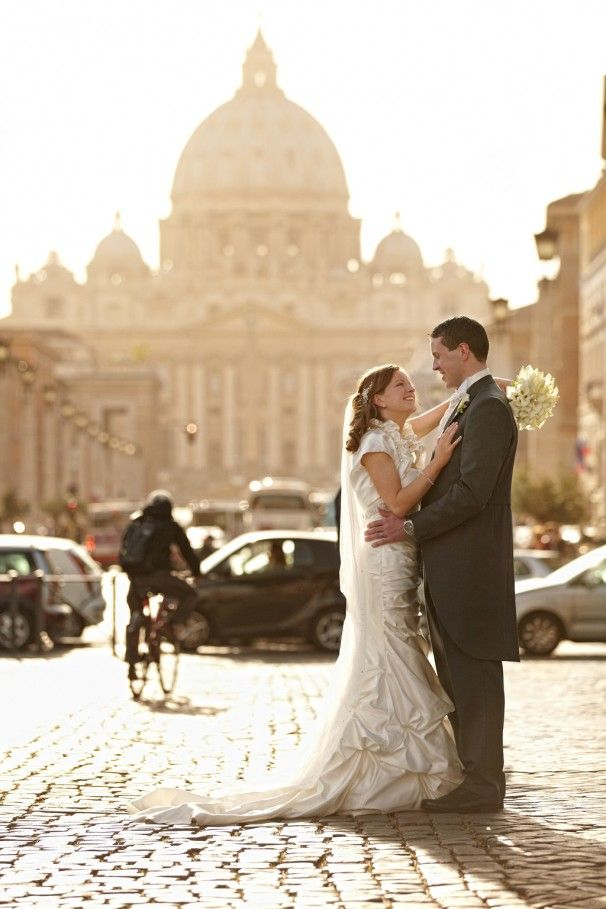 Destination wedding - Rome, Italy