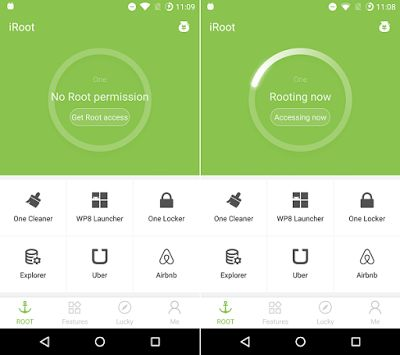 Easily root Android with iRoot apk without computer to obtain root access to your Android core system then can modify your Android system.