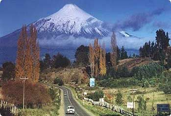 pucon, Chile - the volcano we climbed!