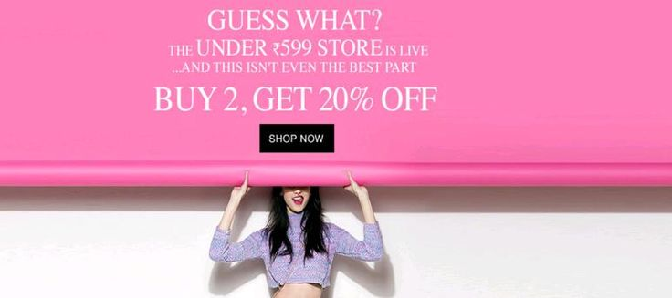 Jabong Ladies Fashion Sale - Buy 2 Get 20% OFF on Women's Clothing Sale - Couponscenter