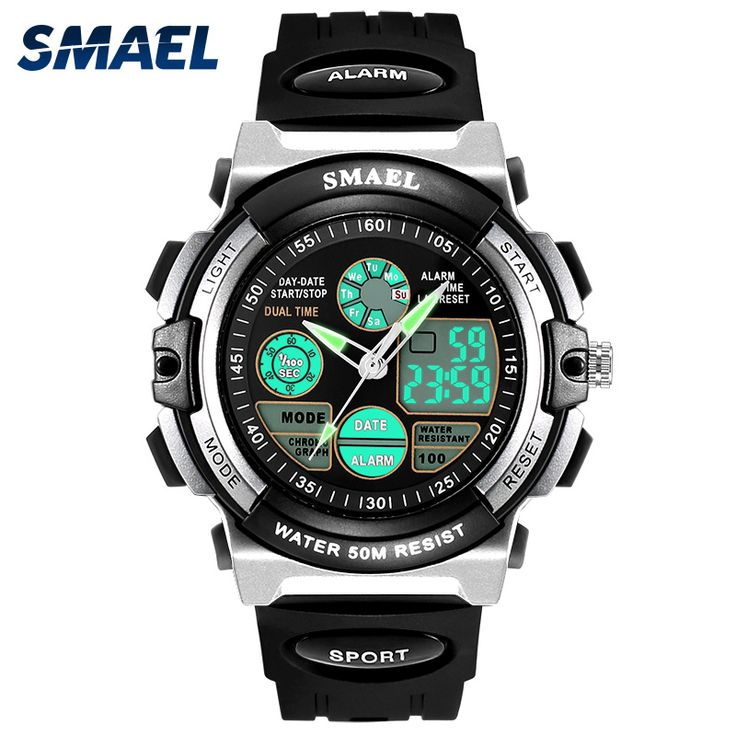 SMAEL Digital Watches Kids Dive 50M Water Resistant Wrist Watch Children S Shock Watch 0508 LED Clock Kids Sport Watch for Boys #Affiliate