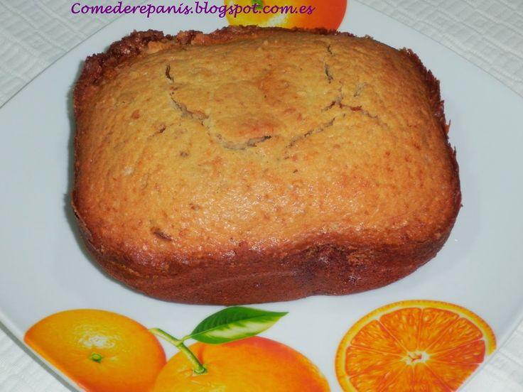 Comedere panis: Bizcocho de Naranja en panificadora