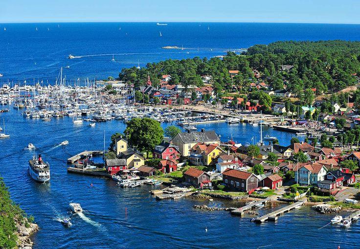Sandhamn with Cinderellabatarna   Stromma.se