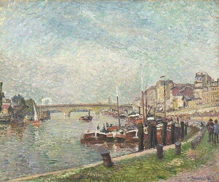 Camille Pissarro Quai Napoléon, Rouen