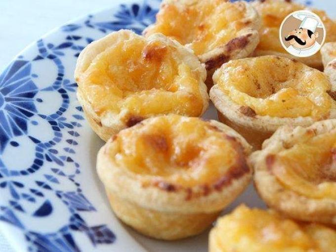 Receta Postre : Pasteis de nata tradicional de portugal por Petitchef_oficial