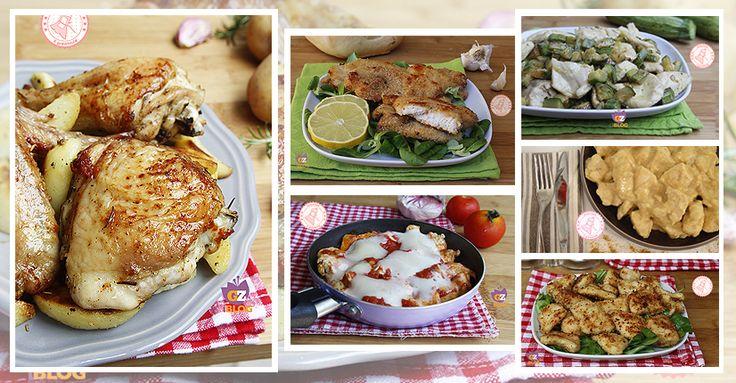RICETTE CON IL POLLO Tantissime ricette con il pollo un alimento davvero buono, gustoso, povero di grassi economico e versatile. Potete trovarne sia con il