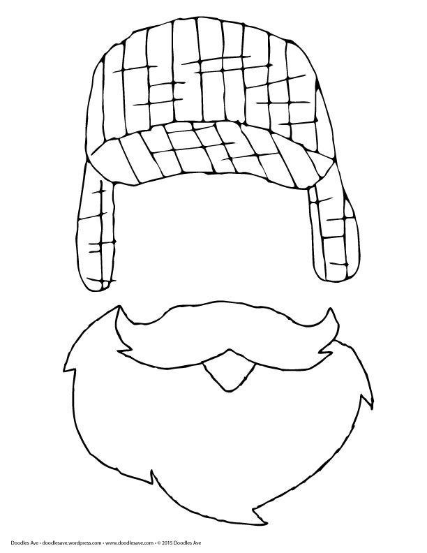 lumberjacks coloring pages - photo#18