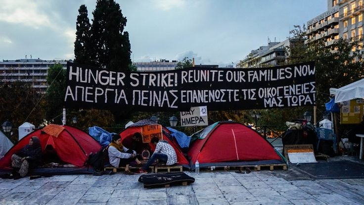 Syrian refugees in Athens hunger strike for relocation https://tmbw.news/syrian-refugees-in-athens-hunger-strike-for-relocation  Syrian refugees are calling to be reunited with their families [Patrick Strickland/Al Jazeera]Athens, Greece - After fleeing war-ravaged Syria, waiting in Turkey, passing through a Greek island and traversing the mainland last year, Fahd al-Mekki and his family reached the Idomeni, a crossing into Macedonia, only to be turned back.Macedonian border guards denied…