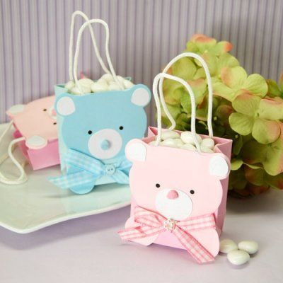 Mini Teddy Bear Favor Bags