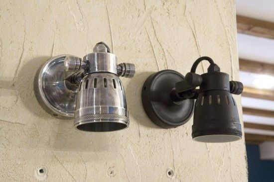 wandlampen Stoere muurspot IZA