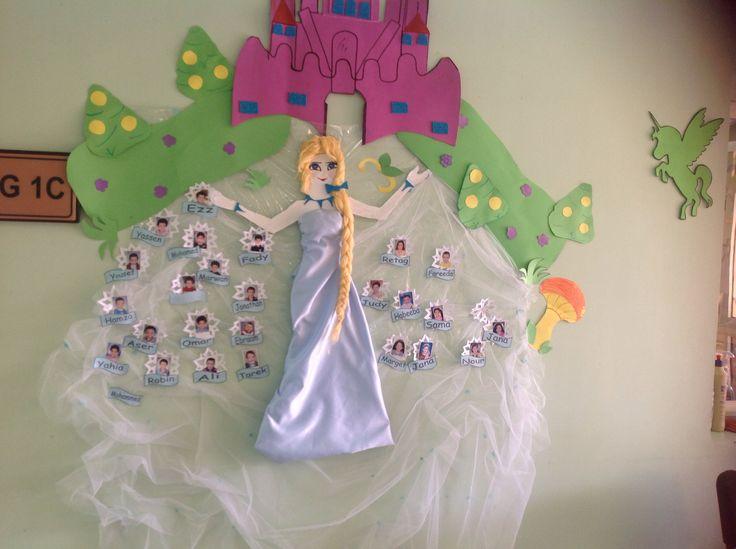 Elsa classroom theme