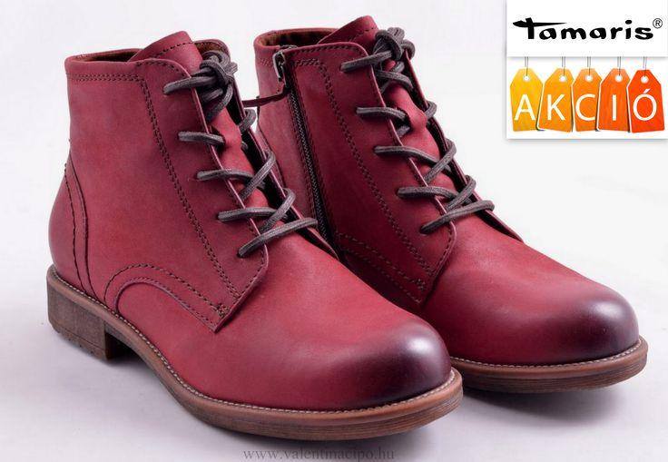 Tamaris női bokacipő, már kedvezményes áron vásárolható a Valentina Cipőboltokban vagy kényelmesen rendelhető webáruházunkból! Várjuk nagy szeretettel!  http://valentinacipo.hu/marka/tamaris  #tamaris #tamaris_webshop #tamaris_cipőbolt