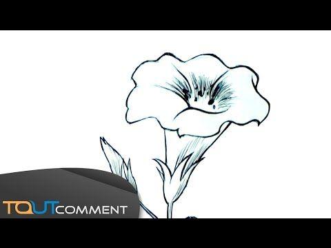 Dessiner une fleur facilement - YouTube