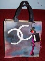 Chanel Spray paint bag: My Diy Chanel Inspired Spray Paint Tote