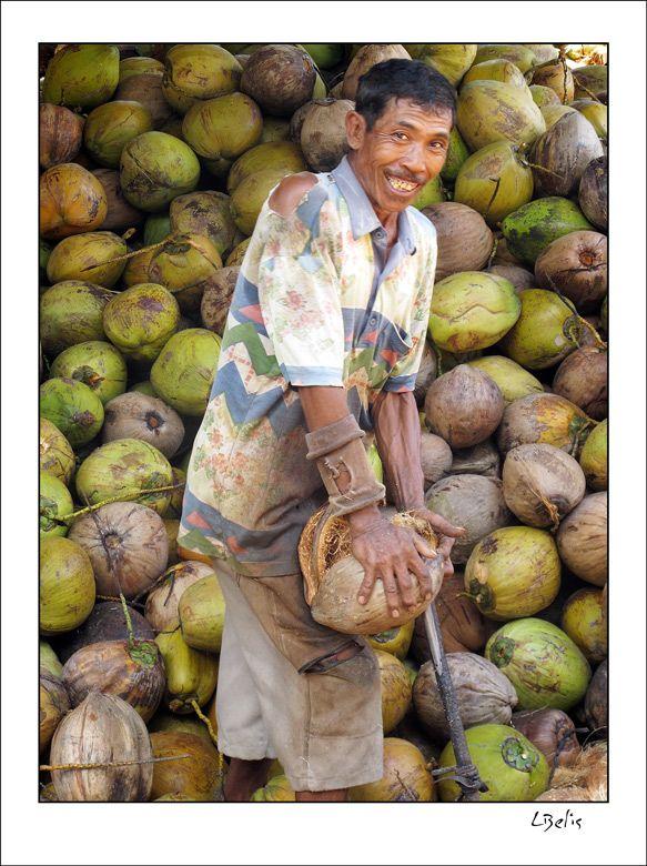 Coconut life - Medewi, Bali by Luca Belis