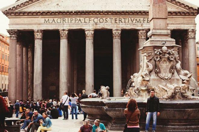 Рим, Италия - Путешествуем вместе