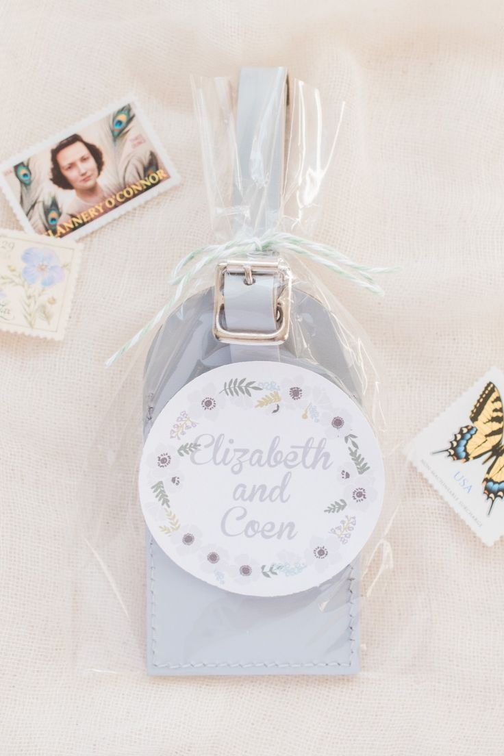 25+ best Luggage Tag Favors by Love Travels images by Love Travels ...
