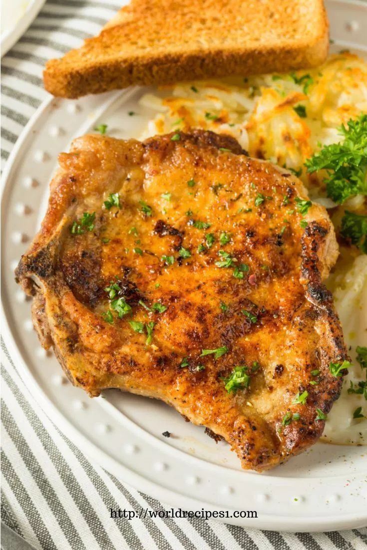 Easy Fried Pork Chops Recipe – THE WORLD DELICIOUS RECIPES