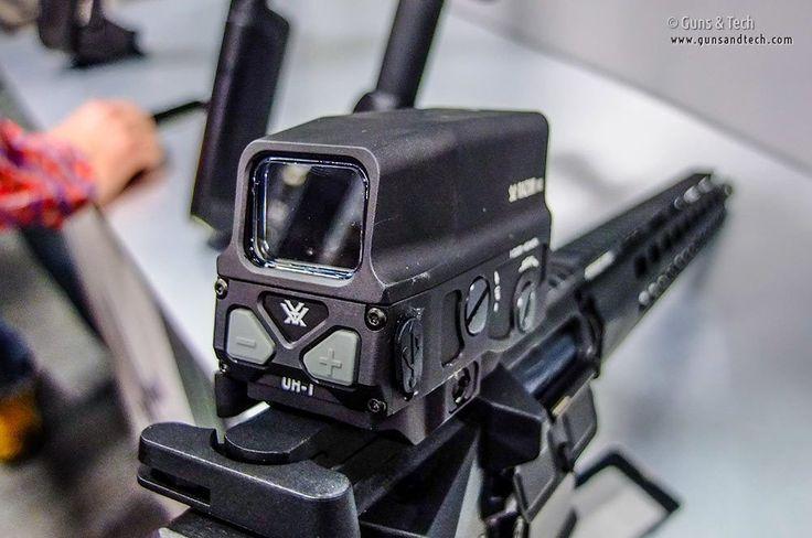 SHOT Show Optics: Vortex Razor AMG UH-1 big window reflex sight - Guns & Tech