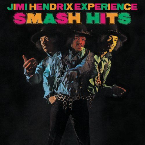 jimi hendrix album covers | Jimi Hendrix Smash Hits Album Cover