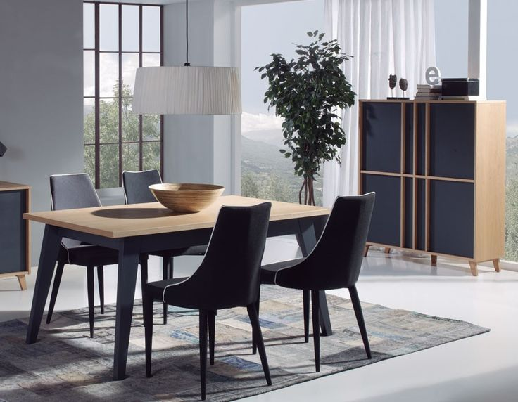 table salle a manger scandinave extensible. Black Bedroom Furniture Sets. Home Design Ideas