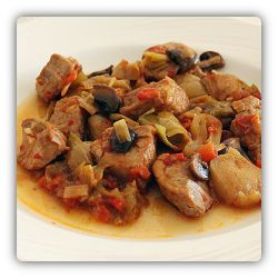 Kavarma is national food (dish) of Bulgaria