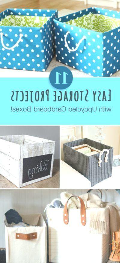 Einfache #Speicherung #Projekte #mit # Up-Cycled #Cardboard #Boxen