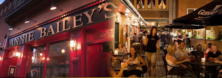 Annie Bailey's is a pub for all ages and has become a staple in downtown Lancaster. We have created an atmosphere that you can meet here for Happy Hour with your co workers and also bring your family in for dinner on a Saturday evening or Brunch on a Sunday afternoon.