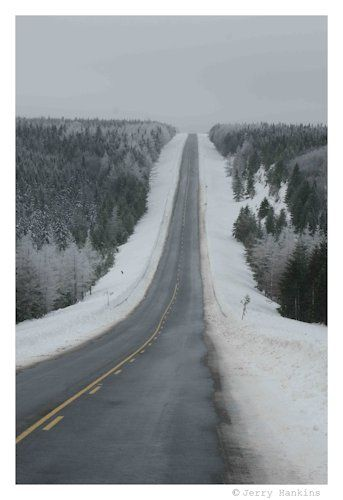 Cabot Trail, Cape Breton, Nova Scotia  Photo by Jerry Hankins