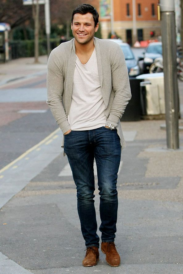 Mark Wright at the ITV studios in London