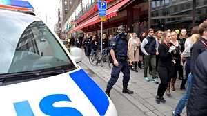 UM: Useita suomalaisia poliisin eristämällä alueella Tukholmassa – kaikkiin ei ole saatu yhteyttä