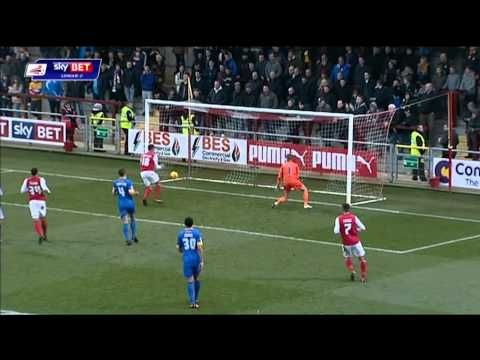 Fleetwood Town vs Mansfield Town
