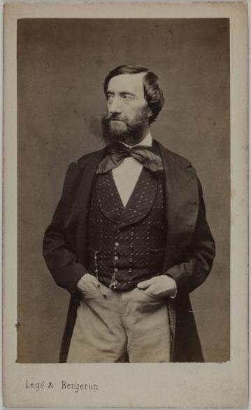 Portrait De Paul Barroilhet 1805 1871 Collectionneur Peinture Chanteur Lyrique