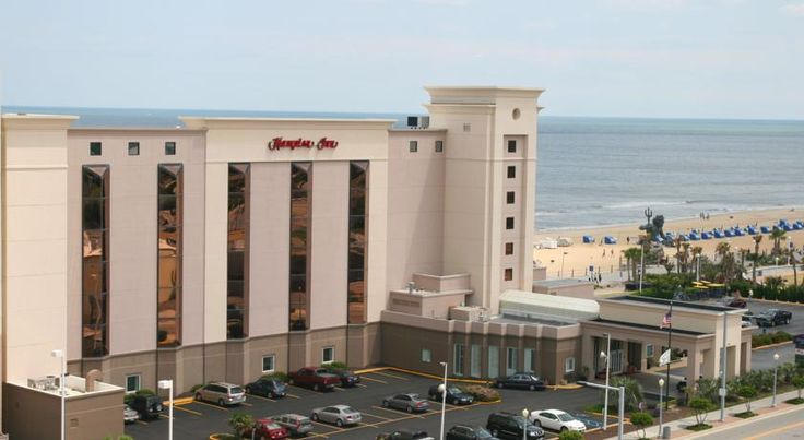 Hampton Inn Virginia Beach Oceanfront North Virginia Beach Offering an exceptional oceanfront location along the Virginia Beach boardwalk, only steps from top attractions and an exciting nightlife, this hotel offers comfortable accommodations and a 24-hour pool.